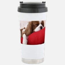 Spaniel pillow Travel Mug