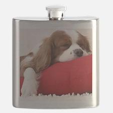 Spaniel pillow Flask