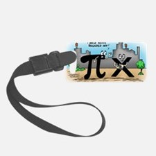Pi_59 Twitter (10x10 Color) Luggage Tag