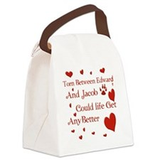 Edward  JacobTorn Blanket Canvas Lunch Bag