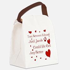 Edward  JacobTorn Blanket Canvas Lunch Bag