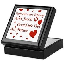 Edward  JacobTorn Blanket Keepsake Box