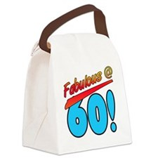 Fabulous At 60 Canvas Lunch Bag