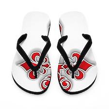 Cross_Shadow Flip Flops