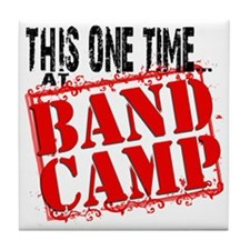 Band_Camp_001 Tile Coaster