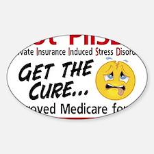 Got PIISD Logo Sticker (Oval)