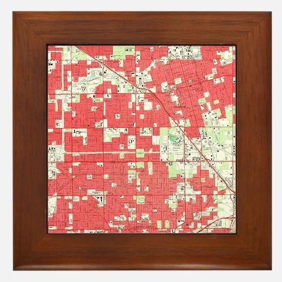 Cute Anaheim ca Framed Tile