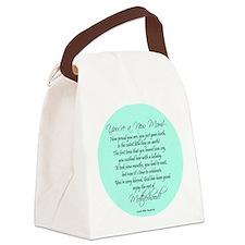 New Mom Ornament Boyl Canvas Lunch Bag