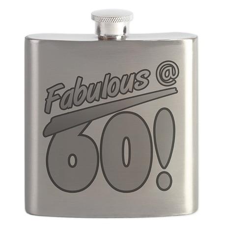 Fabulous At 60 Flask