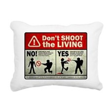 dontshoot Rectangular Canvas Pillow