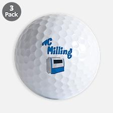 CNC Milling merchandise Golf Ball