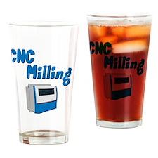 CNC Milling merchandise Drinking Glass