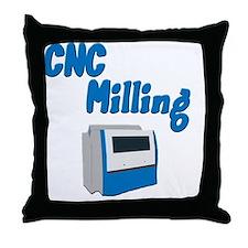 CNC Milling merchandise Throw Pillow