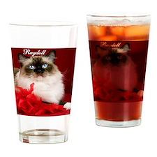 Maddie Tile Coaster Drinking Glass