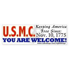 US Marine Corps Bumper Sticker