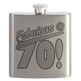 70 birthday Flask Bottles