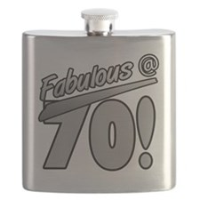 Fabulous At 70 Flask