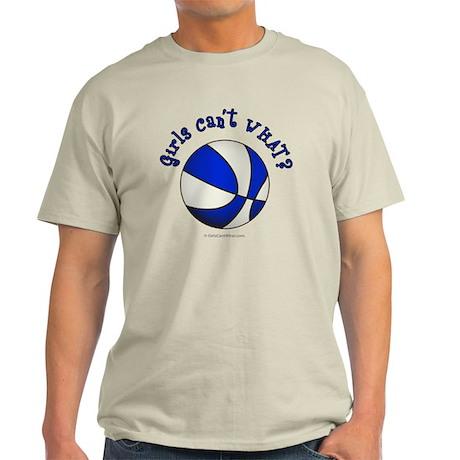 basketball-white-blue Light T-Shirt