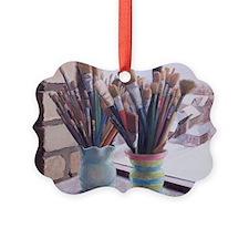 Paint Brushes 1 Ornament