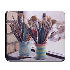 Paint Brushes 1 Mousepad