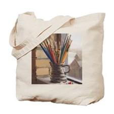 Paint Brushes 2 Tote Bag