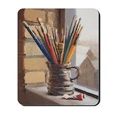 Paint Brushes 2 Mousepad