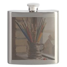 Paint Brushes 2 Flask