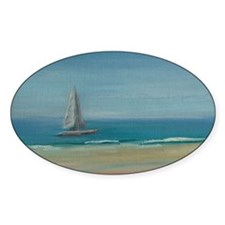 Florida Afternoon Sail Decal