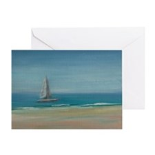 Florida Afternoon Sail Greeting Card