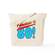 Fabulous At 80 Tote Bag