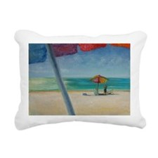 Florida Sun Rectangular Canvas Pillow