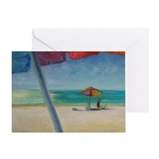 Florida Sun Greeting Card