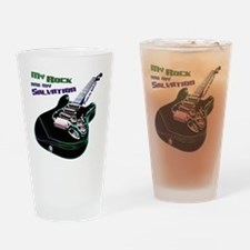 MyRockanMySalvation Drinking Glass