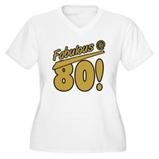 Fabulous At 80 T-Shirt