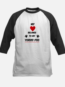 Yorkie-Poo Baseball Jersey
