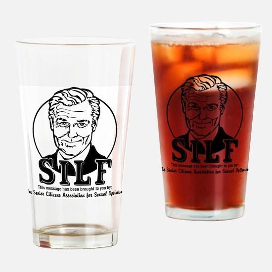 SILF.eps Drinking Glass