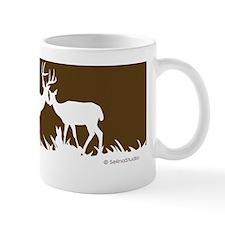 deer shape poster Small Mug