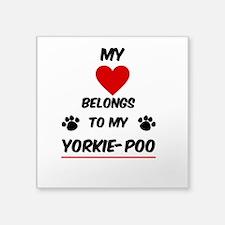 Yorkie-Poo Sticker