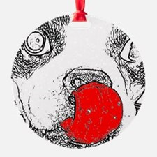 Pete Red note Ornament