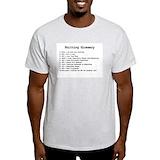 Knitting Mens Light T-shirts