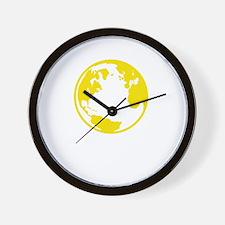 Rothbard World Wall Clock