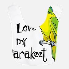 I Love my Parakeet Bib