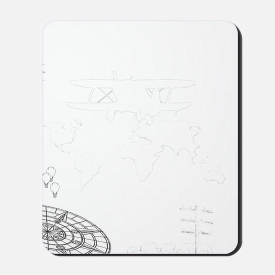 travel adventure4 Mousepad
