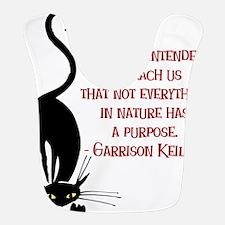 Cats Teach Us Bib