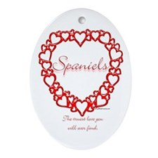 Sussex True Oval Ornament