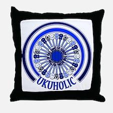 titusfactory_ukuholic02 Throw Pillow