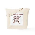 Cupid Has Struck Tote Bag