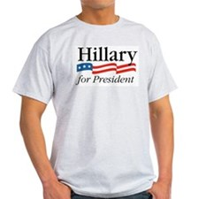 Hillary for President Ash Grey T-Shirt