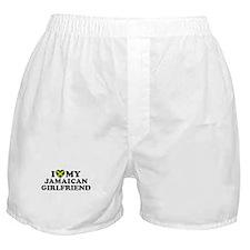 I Love My Jamaican Girlfriend Boxer Shorts