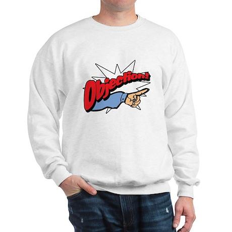 """""""Objection! [Phoenix Wright]"""" Sweatshirt"""